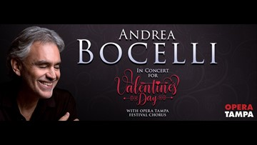 Great Day Live wants to send you to see Andrea Bocelli