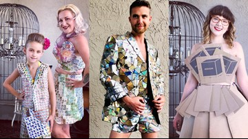 Trash is in fashion at annual St. Petersburg art gallery event