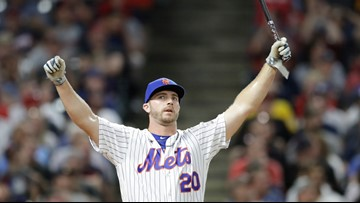 Tampa native Pete Alonso outlasts fellow rookie to win Home Run Derby