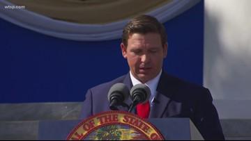 Ron DeSantis sworn in as Florida's 46th governor