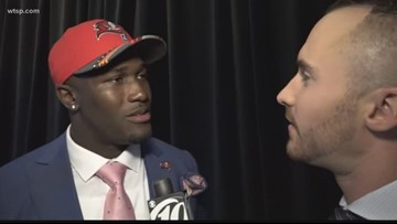 One on one with Bucs' draft pick Devin White