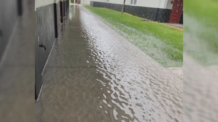 Students fight for flooding fix at Palmetto High School
