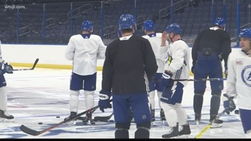Lightning fans gear up for first game of NHL Playoffs