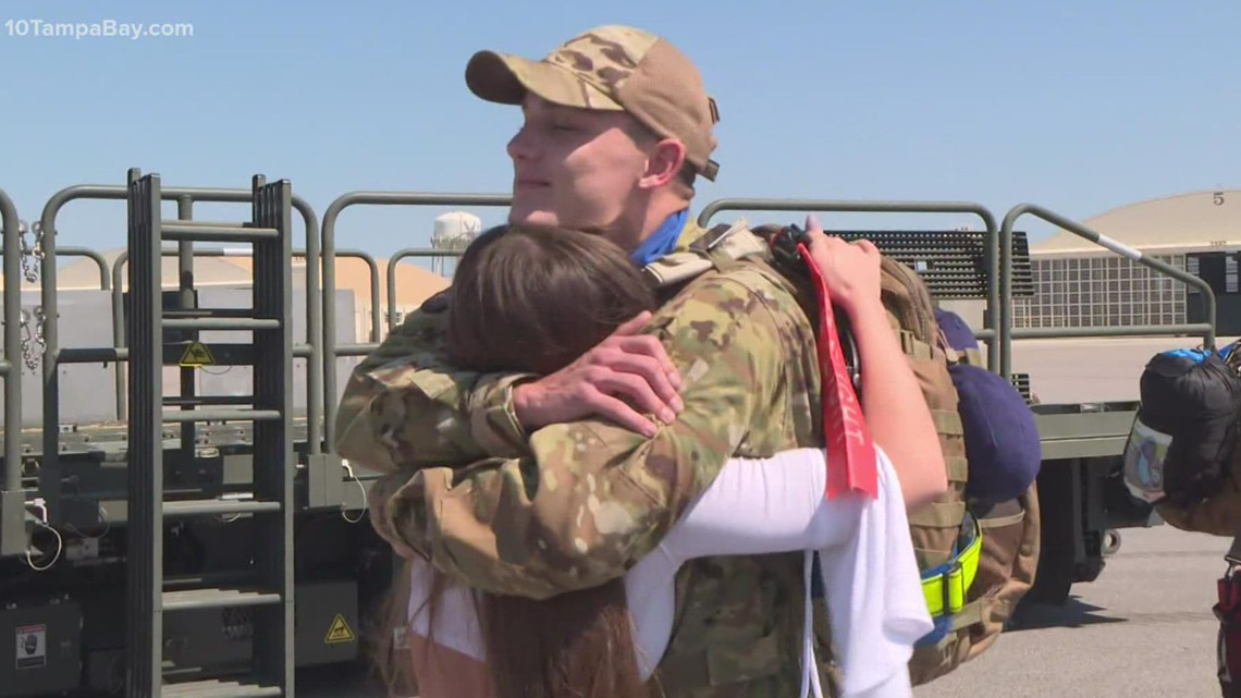 33  MacDill Airmen return home from southwest Asia area
