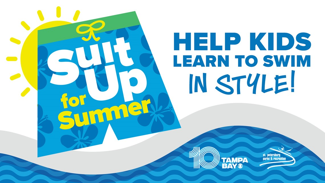 Suit Up for Summer: Help kids learn to swim in style