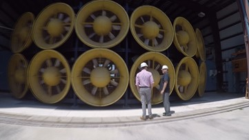 'Wall of Wind': How blasting +150 mph wind helps to build better homes before a hurricane