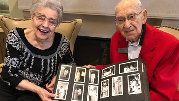 Valentine's Day marks the 73rd anniversary of Florida couple's first date