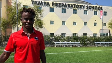 Tampa teen raises money for a soccer field in home village in Tanzania