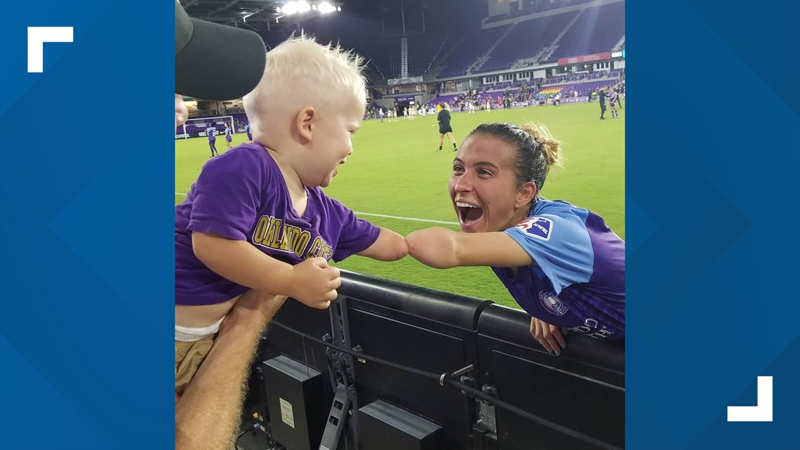 Adorable Photo Of Orlando Soccer Player And 1 Year Old Boy Will Make You