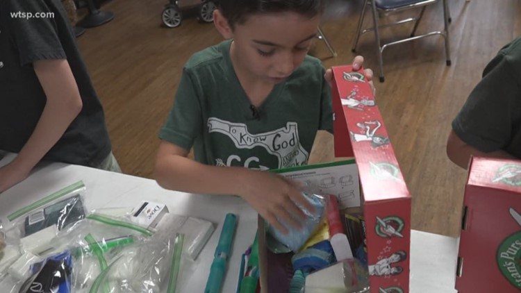 'Operation Christmas Child' will bring a smile to children's faces