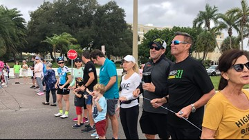 Organizers gather on Bayshore to remember jogger, call for change