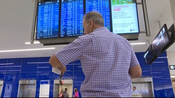 Tampa's airport is preparing for extra passengers as Hurricane Dorian approaches