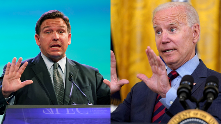 'I am standing in your way': DeSantis fires back after Biden criticizes Florida's pandemic approach