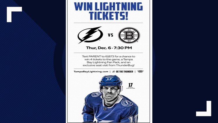 Florida man sues Lightning for sending him text messages, asks for up to $1,500