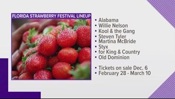Florida Strawberry Festival announces its musical lineup