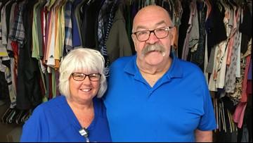 Patient's donation stocks closet for hospital homeless