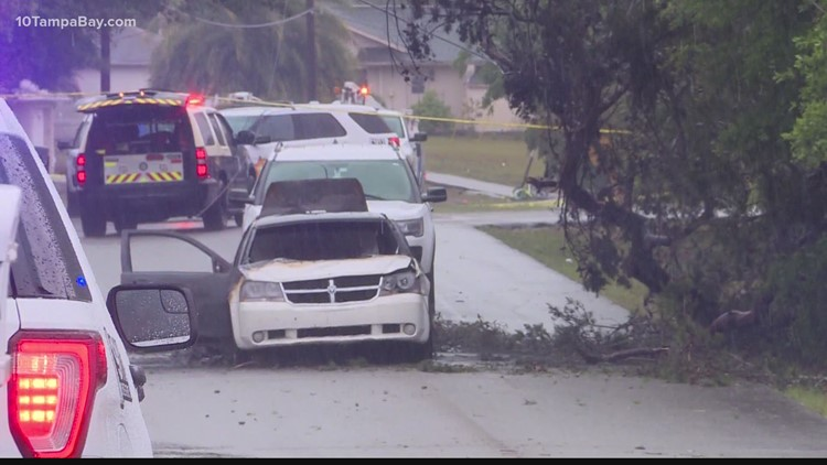 High school senior electrocuted by downed power line during storms in Spring Hill