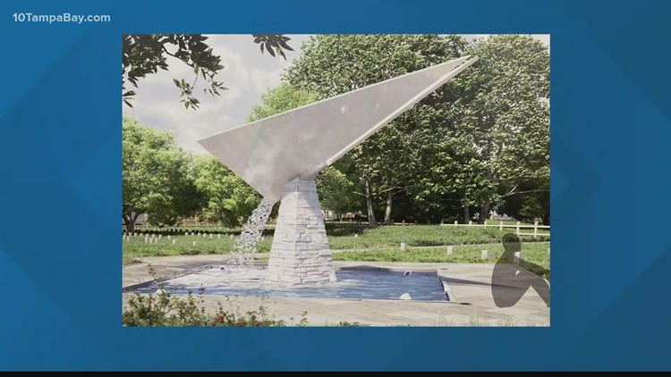 New memorial renderings unveiled for erased Black cemetery at Tampa's King High School