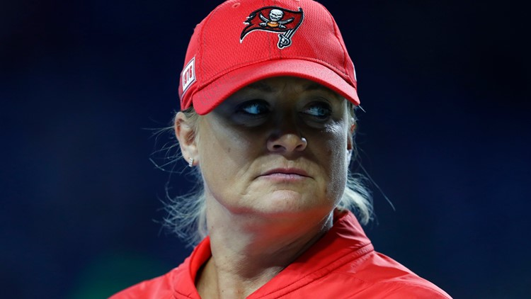'I was trying to take it all in': Bucs assistant coach and trailblazer Lori Locust talks Super Bowl win