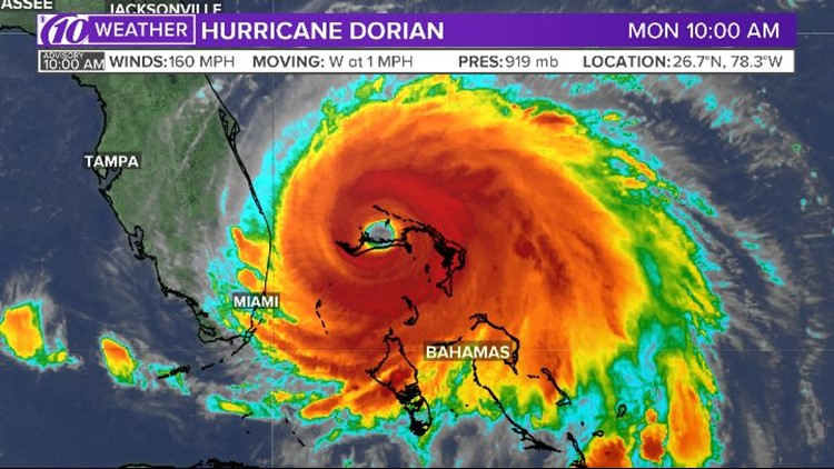 Dorian 10 am