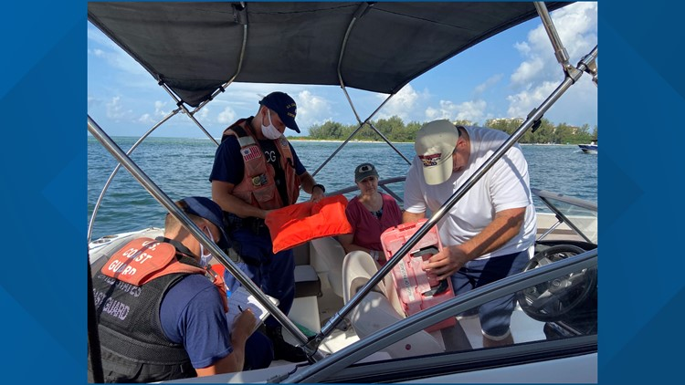 U.S Coast Guard enforces boat safety rules on Labor Day