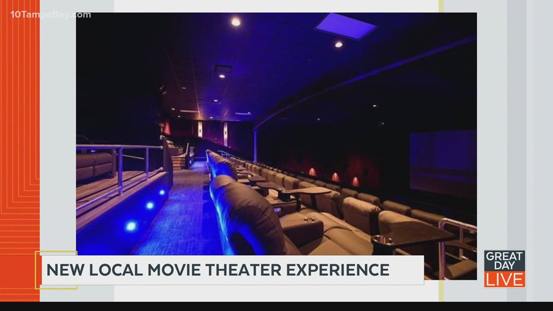 'Movie theater of the future' opens in Wesley Chapel