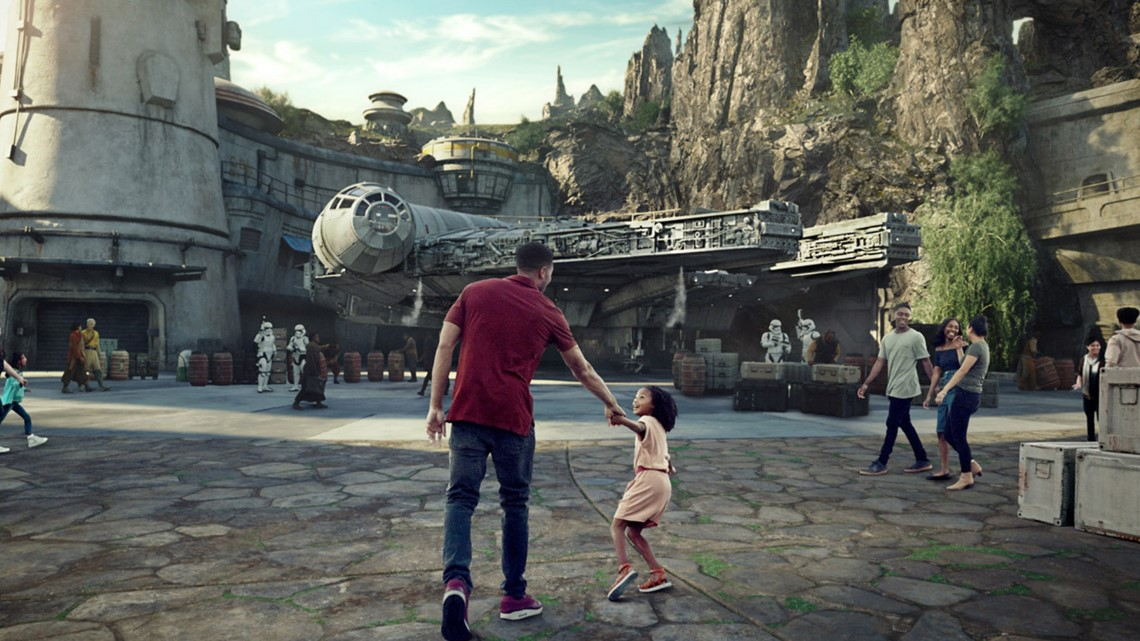 Disney CEO shares photos of Star Wars land tour with Steven Spielberg, J.J. Abrams