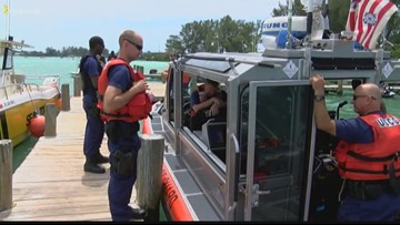 2 people safe after helicopter crashes