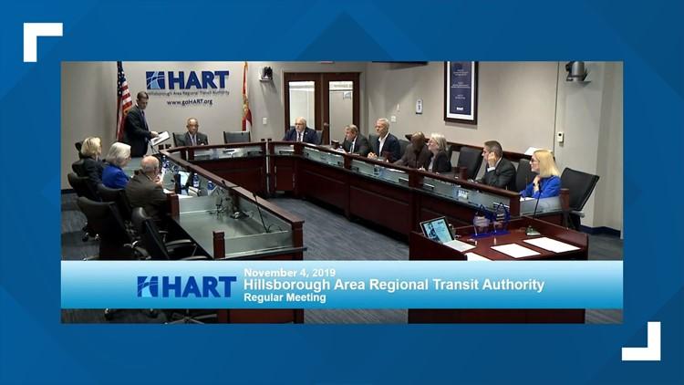 HART board meeting 11 4 19