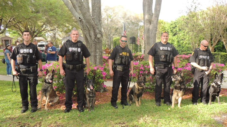 Public welcome to attend memorial to honor K-9 police officers