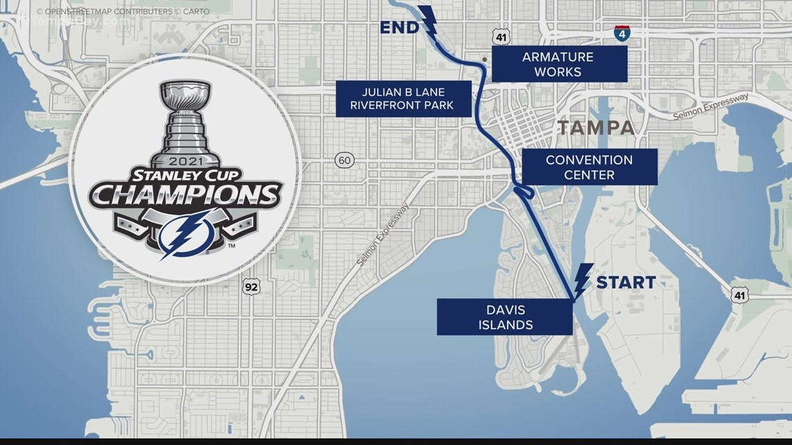 What you need to know for the Lightning's Stanley Cup victory parade in Tampa