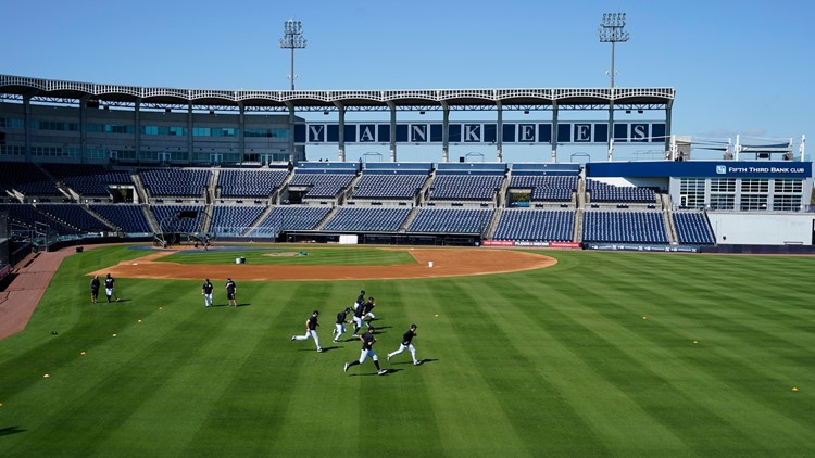 Yankees looking forward to fans in the stands for spring training in Tampa