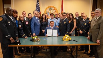 St. Petersburg firefighter diagnosed with cancer sues in benefits battle