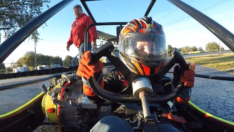 Like father, like son for Florida racing family