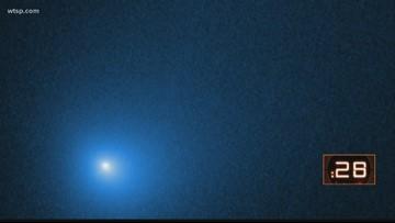 Hubble telescope spots interstellar comet swinging past our Sun