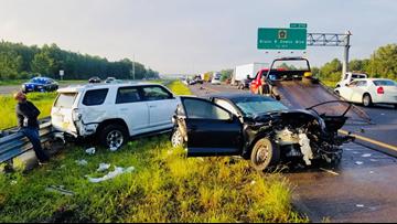 I-75 traffic back to normal after crash