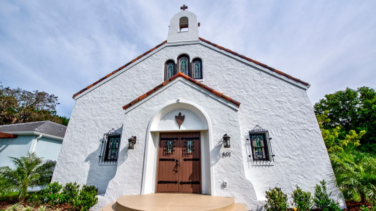 Church transformed into luxury home in St. Petersburg sells for $1.4 million