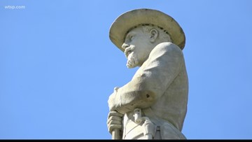 Confederate statue to be moved from Lakeland park