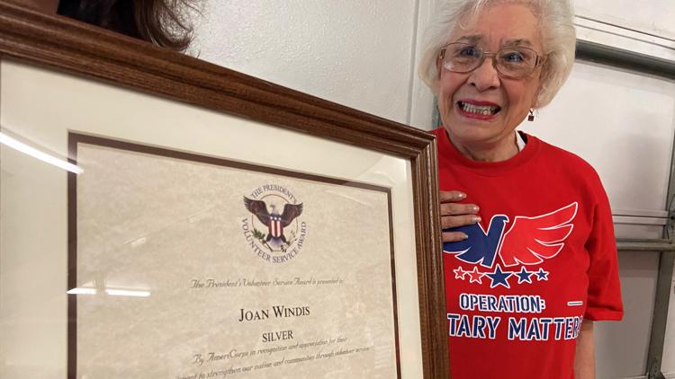 Seminole woman receives prestigious presidential award signed by Donald Trump for service to military