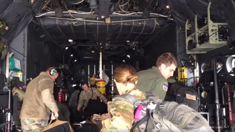 Doctors, nurses stationed at MacDill AFB head to NYC to fight COVID-19