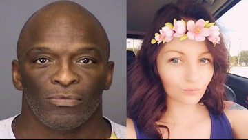 Man wanted for murder after woman's body found behind dumpster