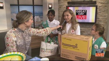 Girl Scouts debut new cookie on GDL
