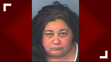 Florida woman accused of directing 11-year-old daughter to steal from Walmart