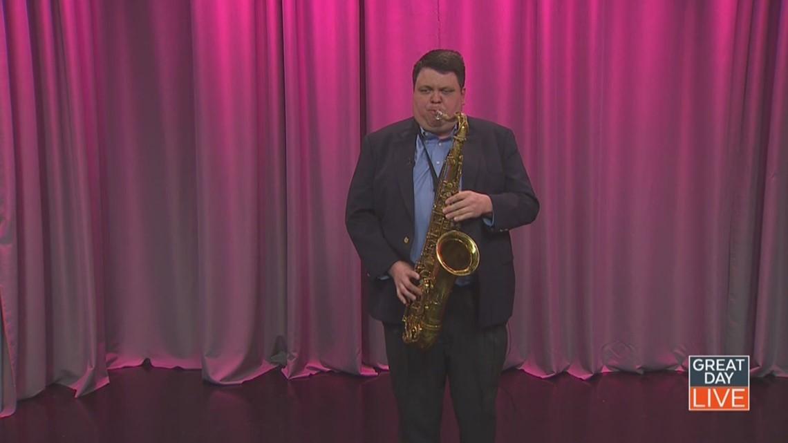 Blind saxophonist teaches jazz at Patel Conservatory