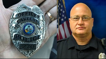 Funeral arrangements announced for fallen Lakeland police officer