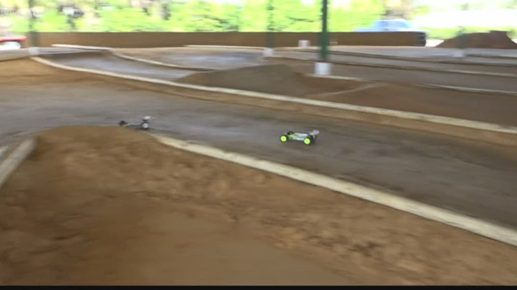 Local Racetrack Takes Remote Control Car Racing To A New Level