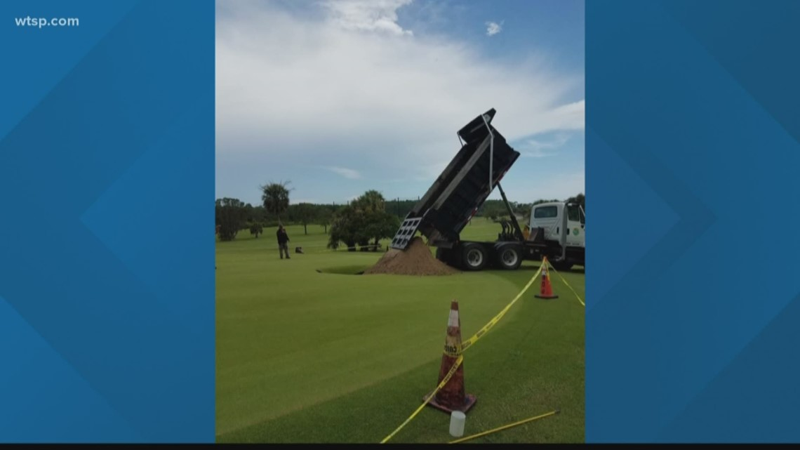 Wow Moment: Golf course has one hole too many