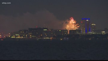 Vendor who flubbed last year's St. Pete July 4th fireworks is putting on Tampa's show this year