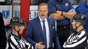 Lightning sign head coach  Jon Cooper to multi-year contract extension