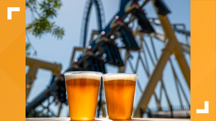 Beer, Bolts, Busch Gardens: Theme park celebrates Lightning win with free beer